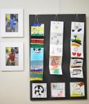 Art from Kenya and photos of Nyumbani artists