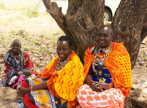 Massai women of the PCDA craft group