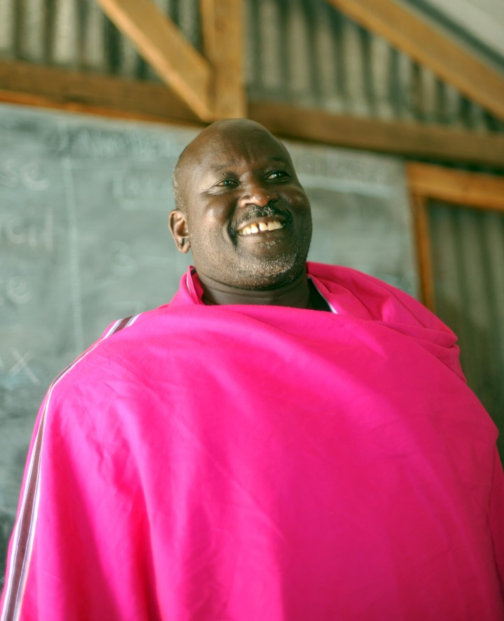 Maasai chief
