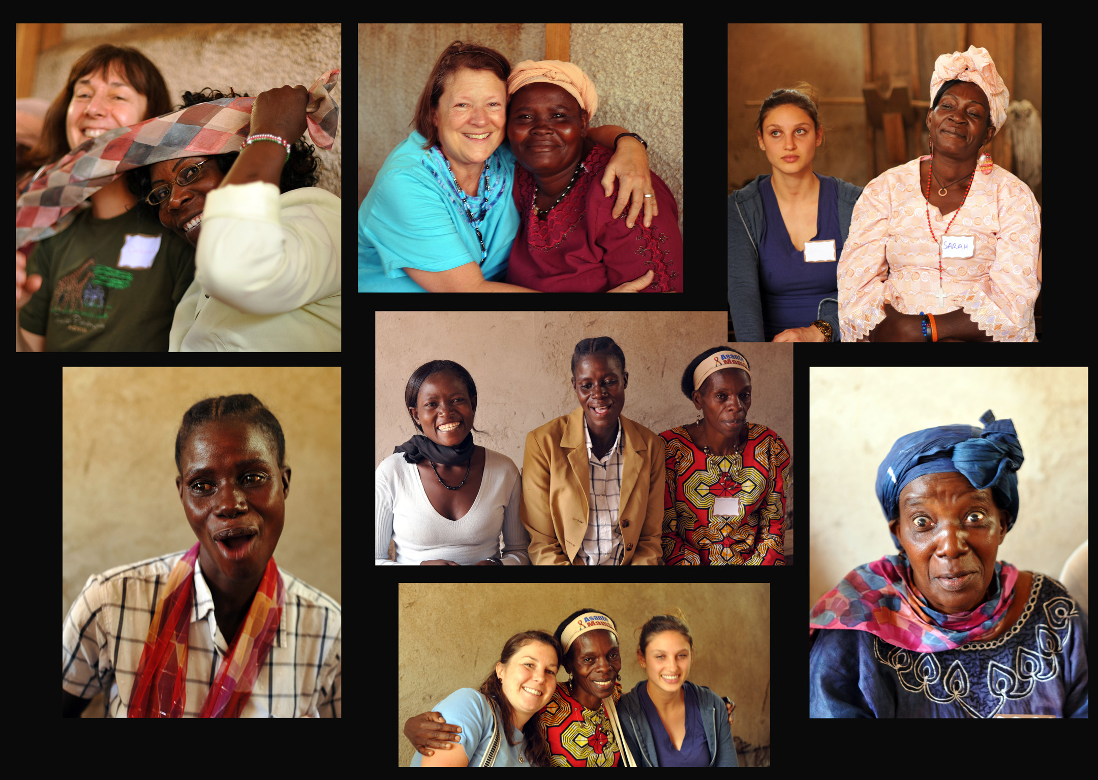 Visit with the Vision Self Help Group of Dandora