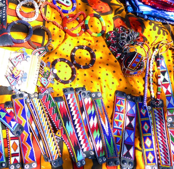 Maasai women's crafts