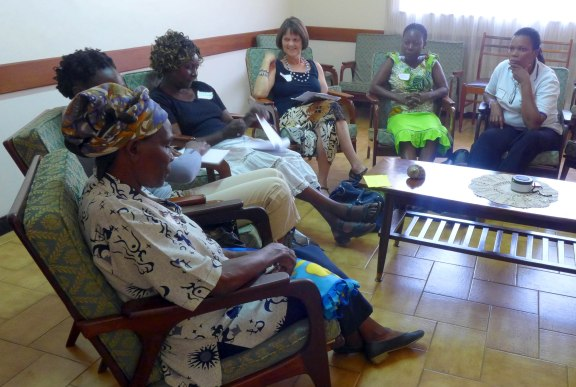 Personal well being session of the Women's Workshop