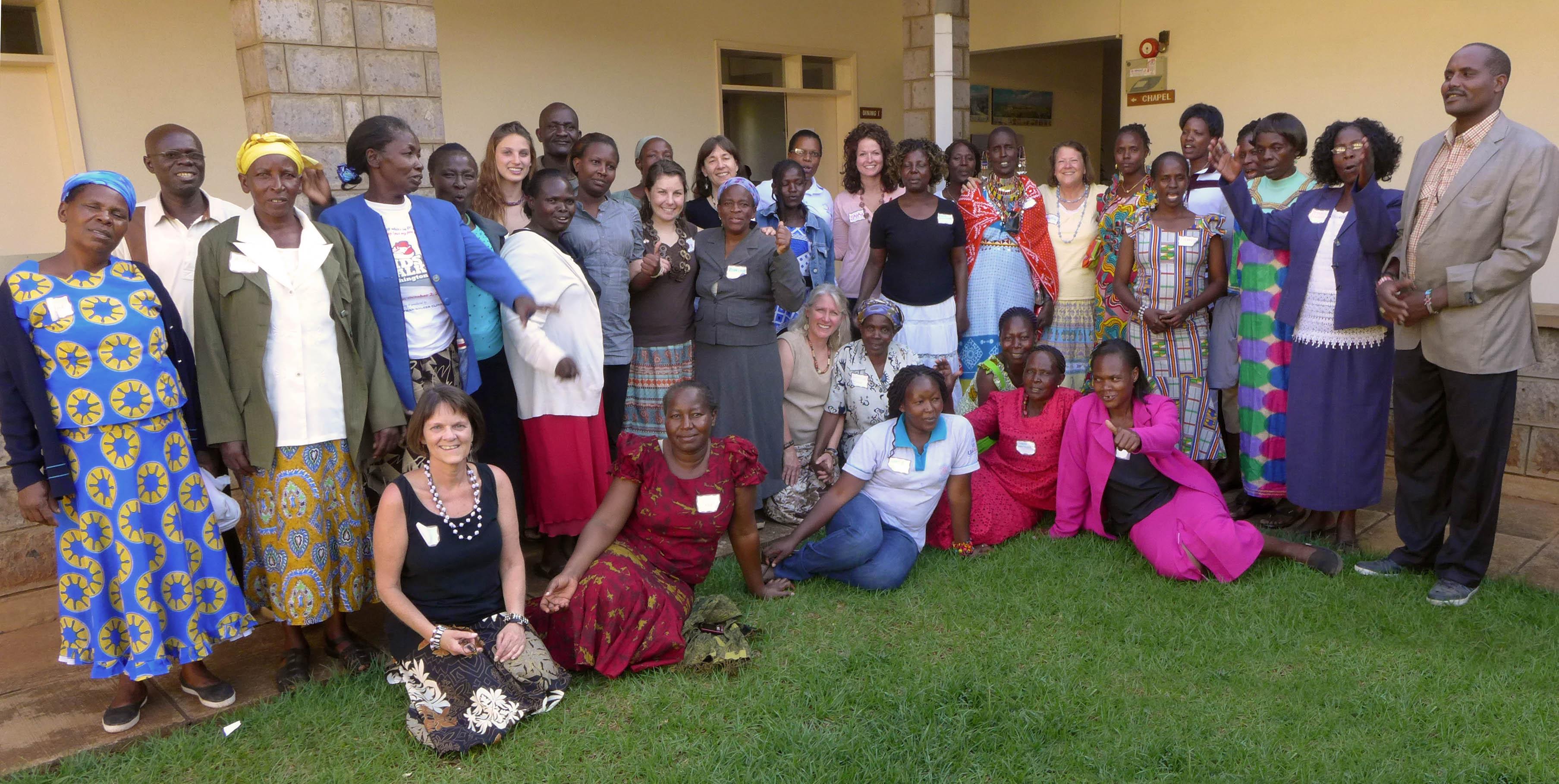 """Tuko Pamoja Women""""s Workshop group photo"""