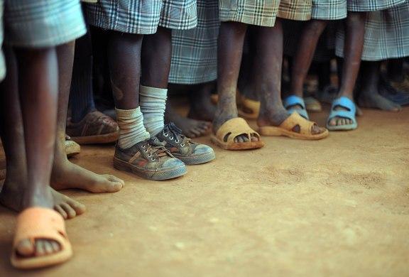 Nyumbani Village feet