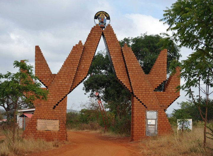 Entrance to Nyumbani Village