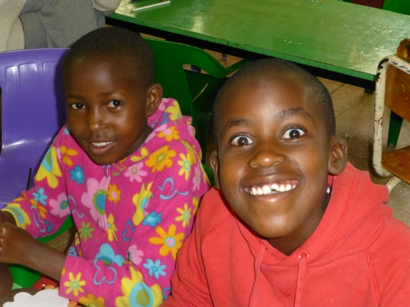 Smiles at Nyumbani Children's Home