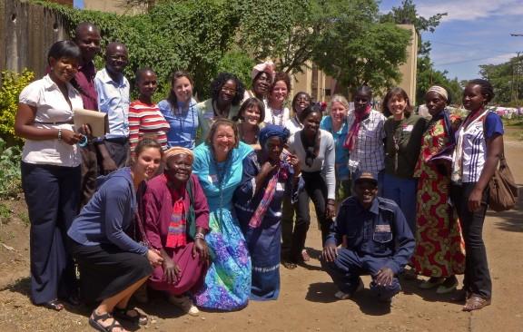 Tuko Pamoja group photo in Dandora--see you soon!