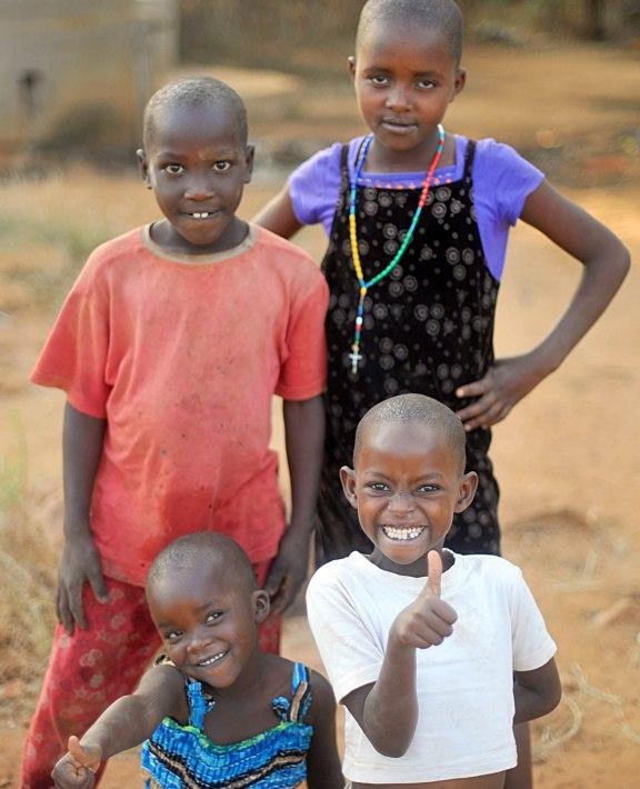 Children of Nyumbani Village
