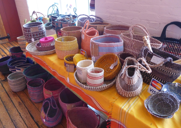 Baskets from Nyumbani Village