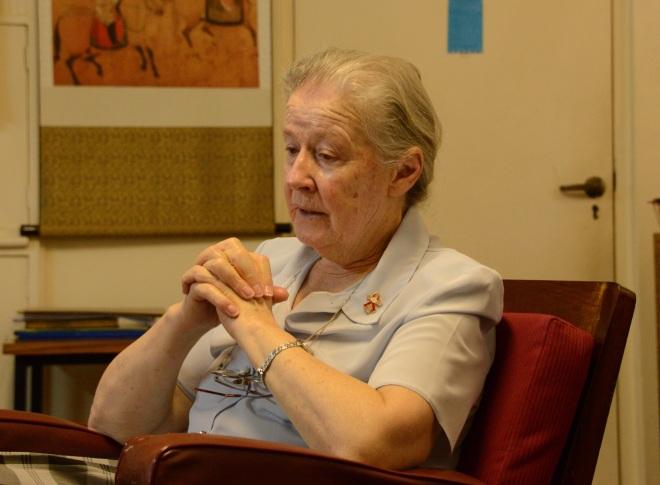 Nyumbani Executive Director, Sister Mary Owens