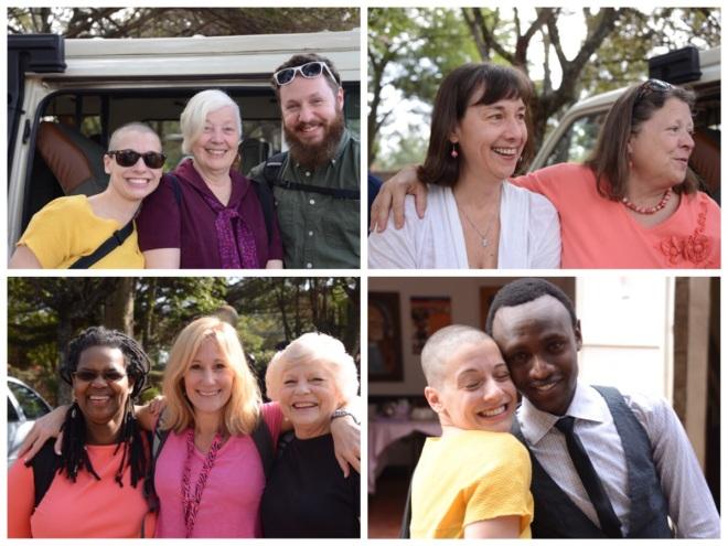 KEST group: Kristen, Irma Jon, Deb, Lloyde, Valerie, Judy, Megan and the KEST intern, Charles