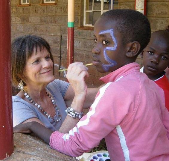 One of the most popular fun activities at Nyumbani Children's Home