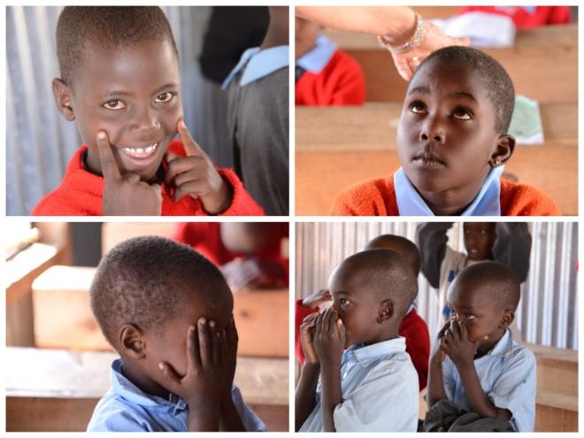 Maasai children of PCDA
