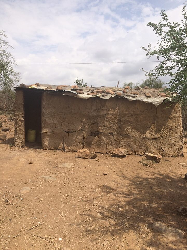Traditional Maasai home