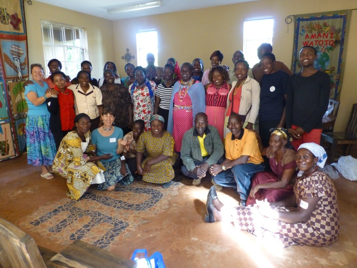 Group photo of Women's Workshop